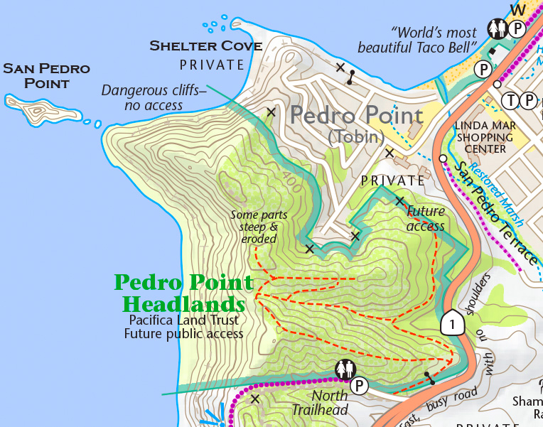 pease trail map image